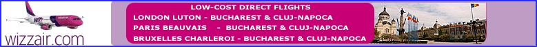FLIGHTS TO ROMANIA